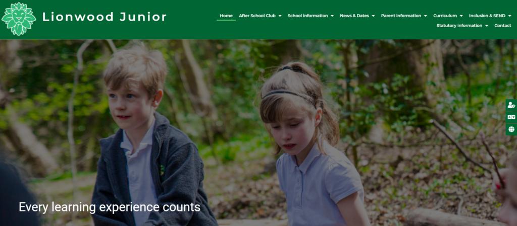 Lionwood website example