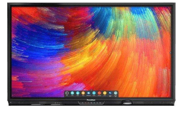 Audio visual touchscreens